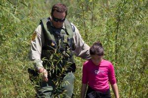 Border Patrol Riverine Unit Rescues Child Stranded on Rio Grande