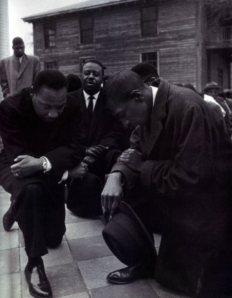 Image result for martin luther king kneels